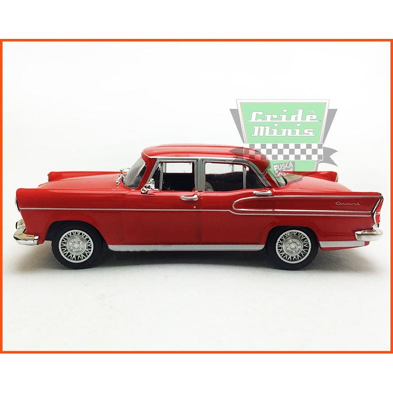 Simca Chambord 1960 - Carros Nacionais - escala 1/43