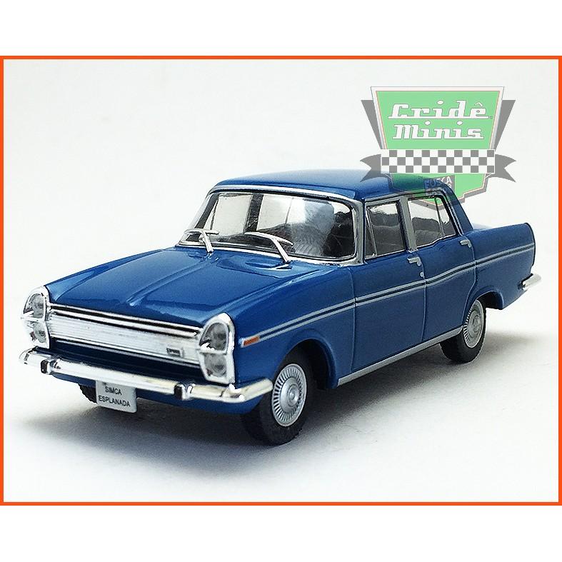 Simca Esplanada 1966 - Carros Nacionais - escala 1/43