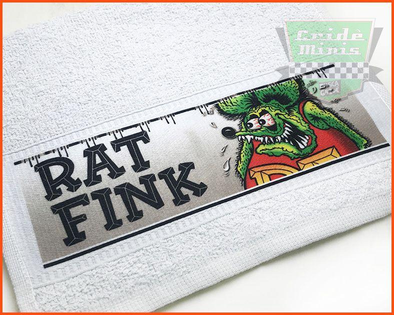 Toalha de mão Rat Fink