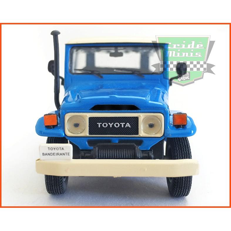 Toyota Bandeirante 1967 - Carros Nacionais - escala 1/43