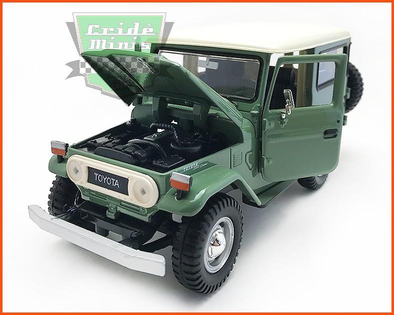 Toyota Bandeirante 1967 Verde - escala 1/24