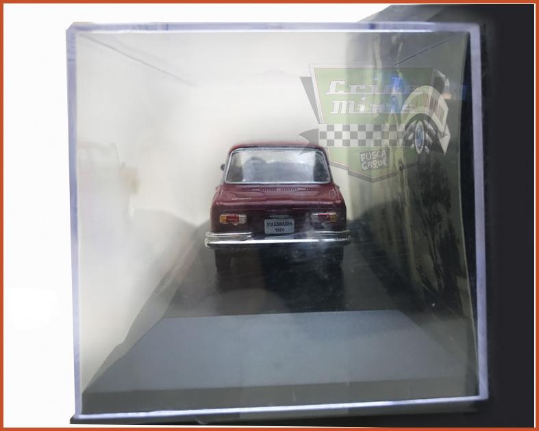 VW 1600 1969 4 portas - Carros Nacionais - escala 1/43