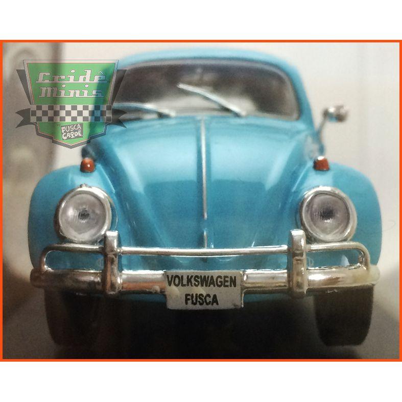 VW Fusca Sedan 1961 - Carros Nacionais - escala 1/43