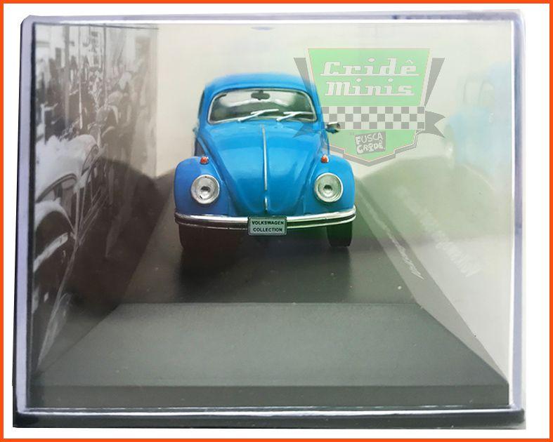 VW Fuscão 1500 1970 - Carros Nacionais - escala 1/43 LACRADO