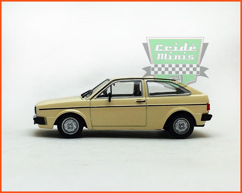 VW Gol BX 1981 - Carros Nacionais - escala 1/43