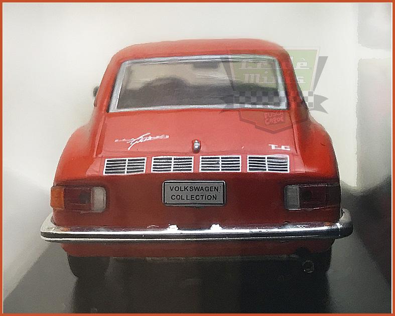 VW Karmann TC 1975 - Carros Nacionais - escala 1/43