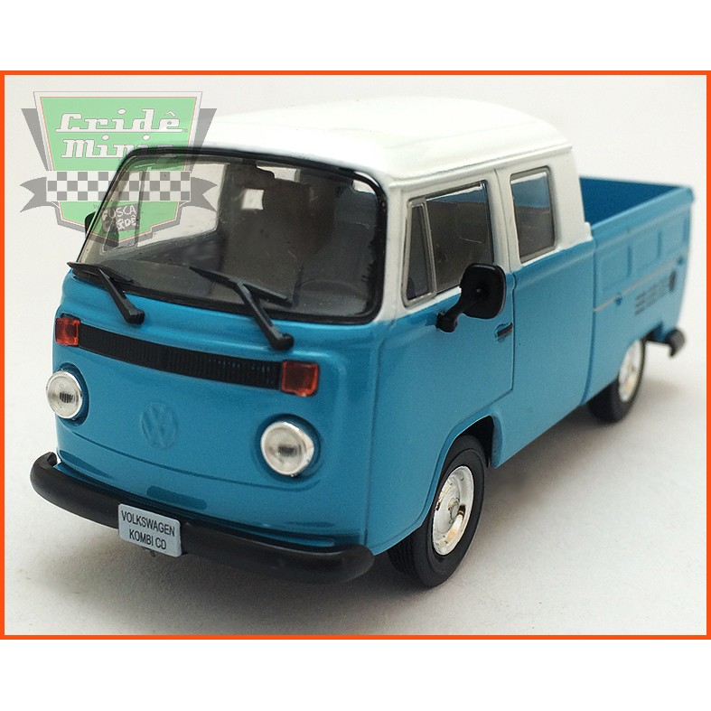 VW Kombi Cabine Dupla Pick-up 1981 - Carros Nacionais - escala 1/43