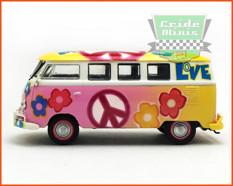 Kombi Hippie Woodstock 69 / 8 dias de produção - escala 1/43