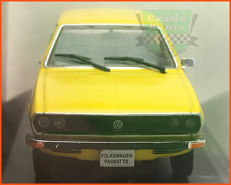 VW Passat TS 1976 - Carros Nacionais - escala 1/43