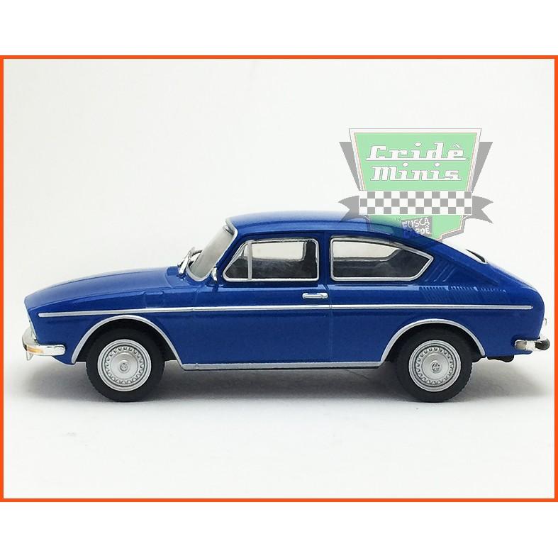 VW TL 1972 - Carros Nacionais - escala 1/43