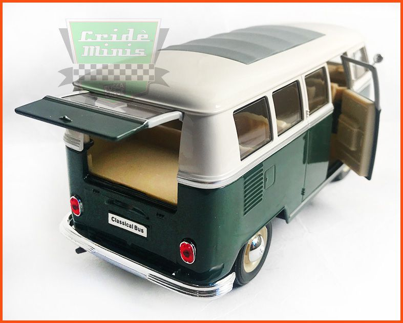 Welly Vw Kombi De Luxo 1963 - Escala 1/24