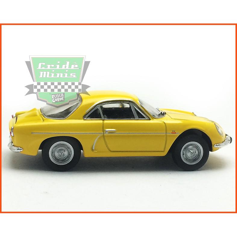 Willys Interlagos 1963 - Carros Nacionais - escala 1/43