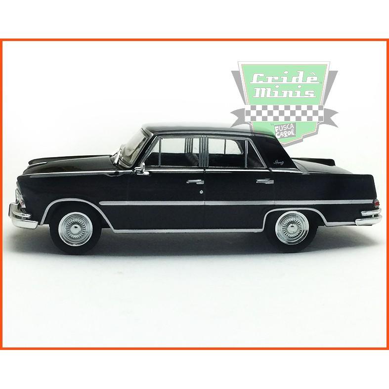 Willys Itamaraty 1967 - Carros Nacionais - escala 1/43