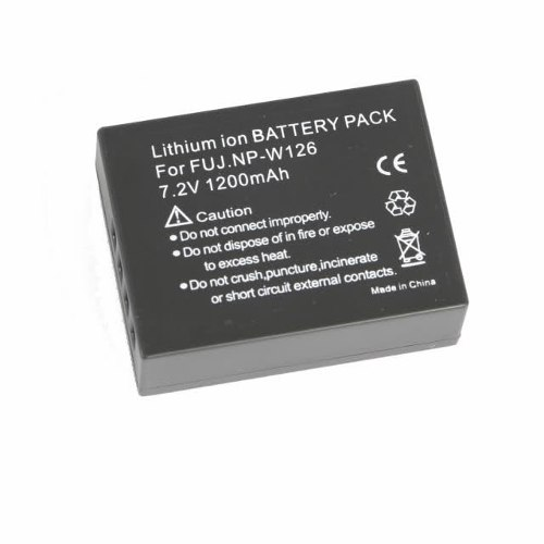 Bateria Np-w126 Fuji Fujifilm Finepix Hs30 Hs30exr Hs33exr  - ENERGIA DIGITAL