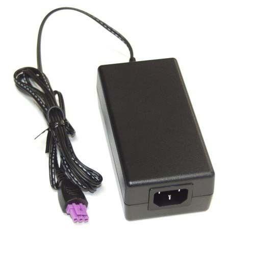 Fonte 22v Impressora Wi Fi Hp 2546 Plug Roxo + Cabo Energia