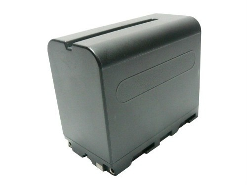 Bateria 6000mah np-f970 Para Iluminador Led Cn 160 126