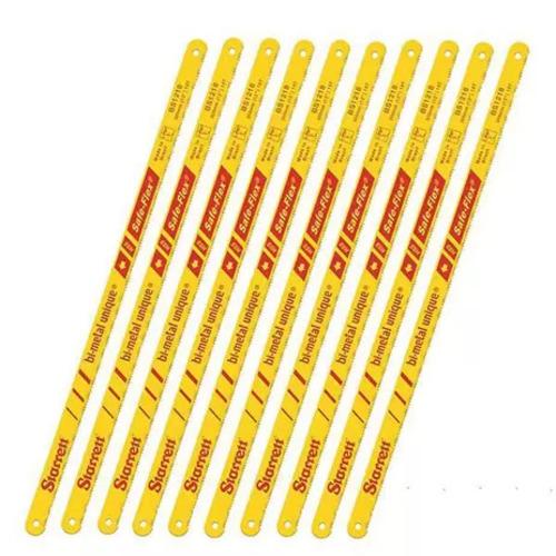 10 Serra Starret Bimetal 24 Dentes Aço Metal Pvc Madeira  - EMPORIO K