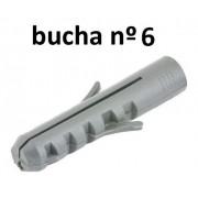 1000 Bucha Fixação Nylon 6 Mm Parede Madeira Suporte 3rr