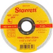 12 Disco De Corte 4 1/2 Aço Inox Dac115-24 Starret 1.6mm
