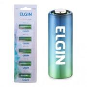 5 Bateria Pilha Energy 12v A23 Elgin Controle Alarme Portão