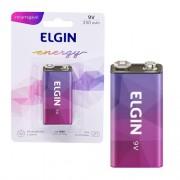 Bateria 9V recarregavel Elgin