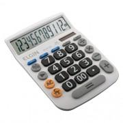 Calculadora Mesa Comercial 12 Dígitos Elgin Branca Mv 4132