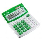 Calculadora Mesa Comercial Escritório 12 Dígitos Elgin Verde
