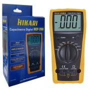 Capacímetro Digital Hcp-200 Hikari