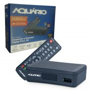 Conversor Digital Full Aquario HD Compacto DTV-4000 S