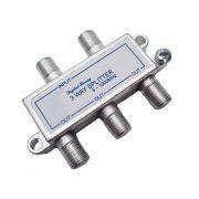 Divisor De Sinal 1 X 4 VHF/UHF/CATV Frequencia de 5~1000 MHz