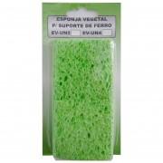Esponja Vegetal Limpeza Ponta Ferro pacote com 4 Unidades