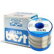 Estanho Solda Best 189 Msx10 60x40 500g Rolo Carretel 1mm Azul