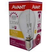 Kit 10 Lampada Bulbo Halogena 2700k 220V 120w Avant