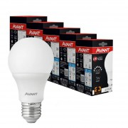 Kit 10 Lampada led bulbo 7w Avant