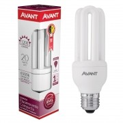 Kit 10 Lampada Fluorescente Compacta 3u 20w E27 Avant