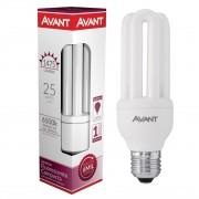 Kit 10 Lampada Fluorescente Compacta 3u 25w E27 Avant