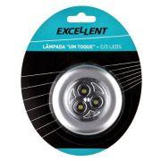 Mini Lanterna Lâmpada Auto Adesiva 1 Toque 3 Leds Eda 9dn
