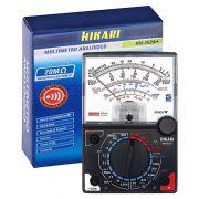 Multímetro Analógico Hikari Hm-202a+ 20k Ohms/volt Corrente