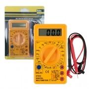 Multímetro Digital Cabo Teste Dt-832 Com Bip 0cn Eda
