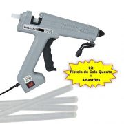 Pistola de Cola Quente HPC-280 280W Bivolt Hikari + 4 Bastões cola