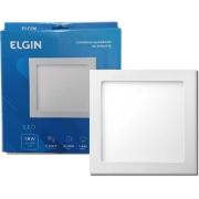 Plafon quadrado embutir 18W branco frio ELGIN