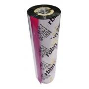 Ribbon resina 110,00mm X 75m Ext tubo 1/2 BOPP
