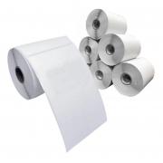 Rolo de etiqueta adesiva 100x150 Couche (com 660 etiquetas)