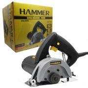 Serra Mármore Hammer 100% Rolamentada 1100w  Sm1100 - 110v