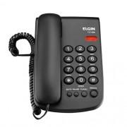 Telefone De Mesa Com Fio E Bloqueador Preto Tcf2000 Elgin