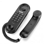 Telefone Elgin Com Fio Modelo Gôndola Preto Tcf 1000