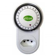 Timer Analógico Temporizador Mecanico Elcon Bivolt Tm 22 96 programas