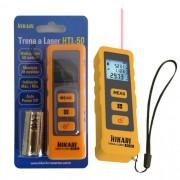 Trena a laser digital HTL-50