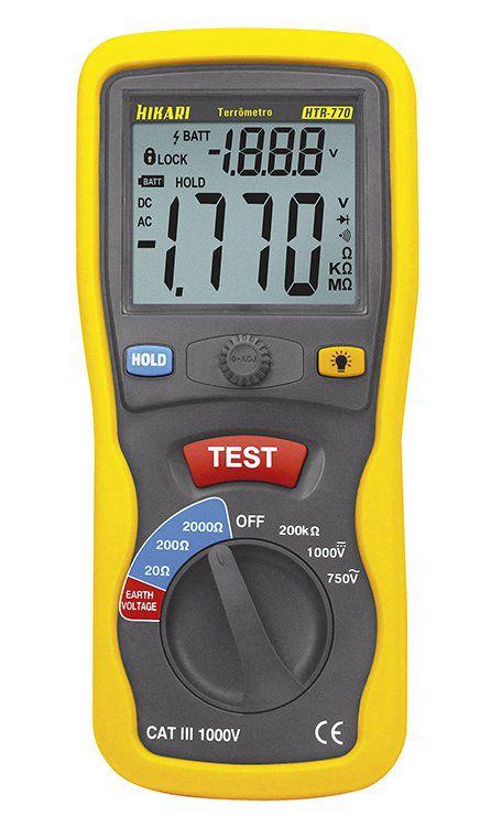 Terrômetro Digital Portátil Modelo HTR-770  - EMPORIO K
