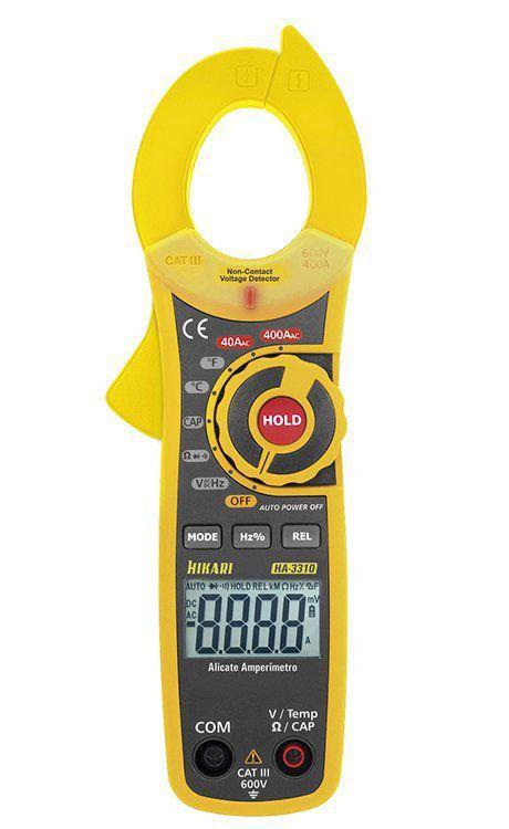 Alicate Amperímetro Digital Hikari Ha-3310  - EMPORIO K